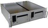ANSI 3U rack mount adapter